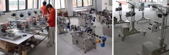 पेनिसिलिन बोतलको लागि स्वचालित एम्पौल स्टिकर लेबलिंग मेशीन / लेबलिंग मेशीन