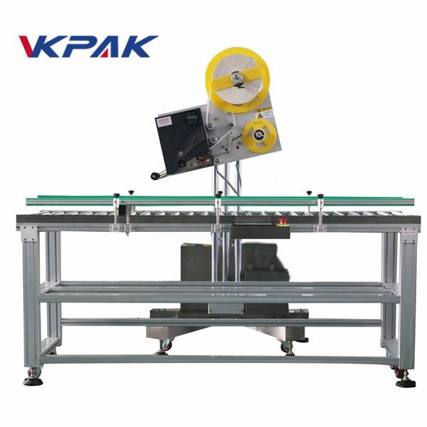 साना मापन उत्पादन पेपर बक्सको लागि ऑटो लिफाफा औद्योगिक लेबल एप्लाइटर