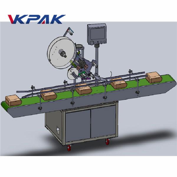 स्वचालित फीडिंग शीर्ष लेबलिंग मेशीन
