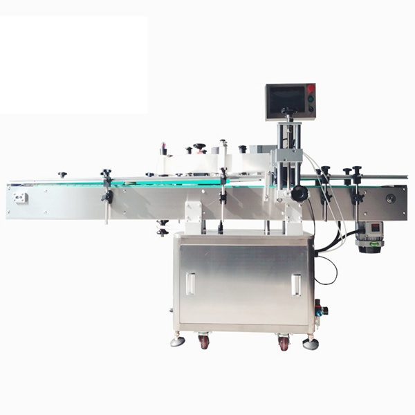 प्रसाधन सामग्री स्वयं - घरपालुवा बोतलहरूका लागि चिपकने वाला स्वचालित स्टीकर लेबलिंग मेशीन