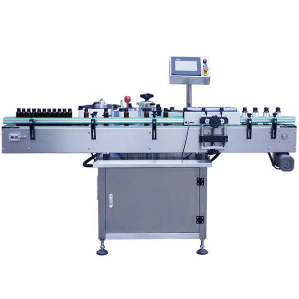 घरपालुवा बोतलहरूका लागि स्वचालित चिपकने वाला स्टीकर लेबलिंग मेशीन