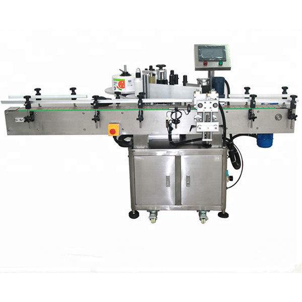 अगाडि र पछाडि लेबलिंग मेशीन, उच्च स्पीड लेबलर 8080० केजी वजन