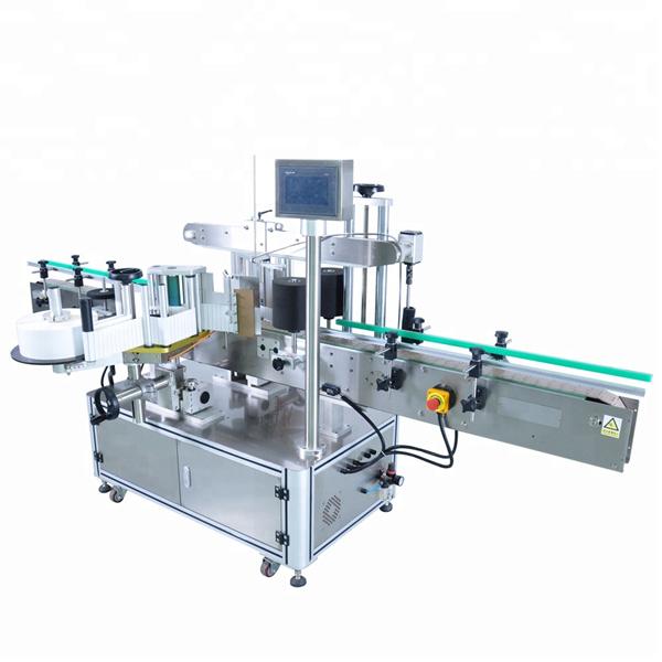 अनियमित कन्टेनरहरूको लागि उच्च गति गोल बोतल स्टिकर लेबलिंग मेशीन