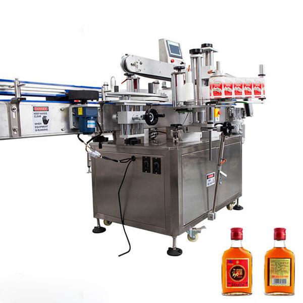 कप र राउन्ड बोतलहरू पूर्ण स्वचालित स्टिकका लागि लेबलिंग मेशीन