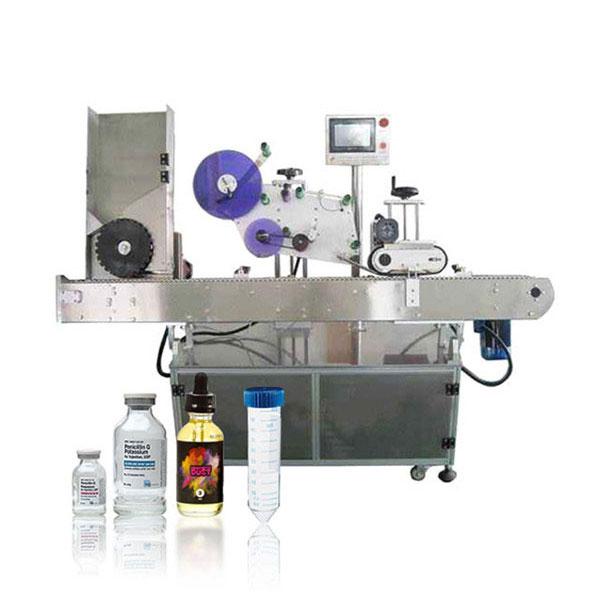 सीमेन्स पीएलसी वायल सर्वो सहायक नियंत्रक स्वचालित क्षैतिज लेबलिंग मेशिन