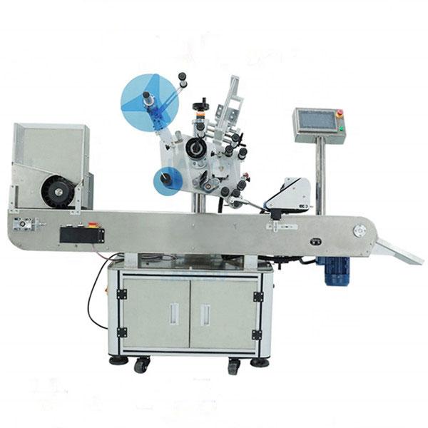 मौखिक तरल बोतलहरूका लागि शीश औद्योगिक लेबलिंग मेशीन