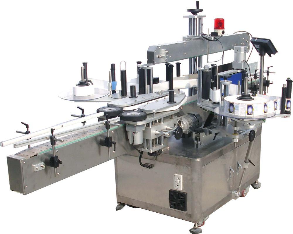 उच्च गति डबल साइड हाइड्रोलिक तेल स्टिकर लेबलिंग मेशीन