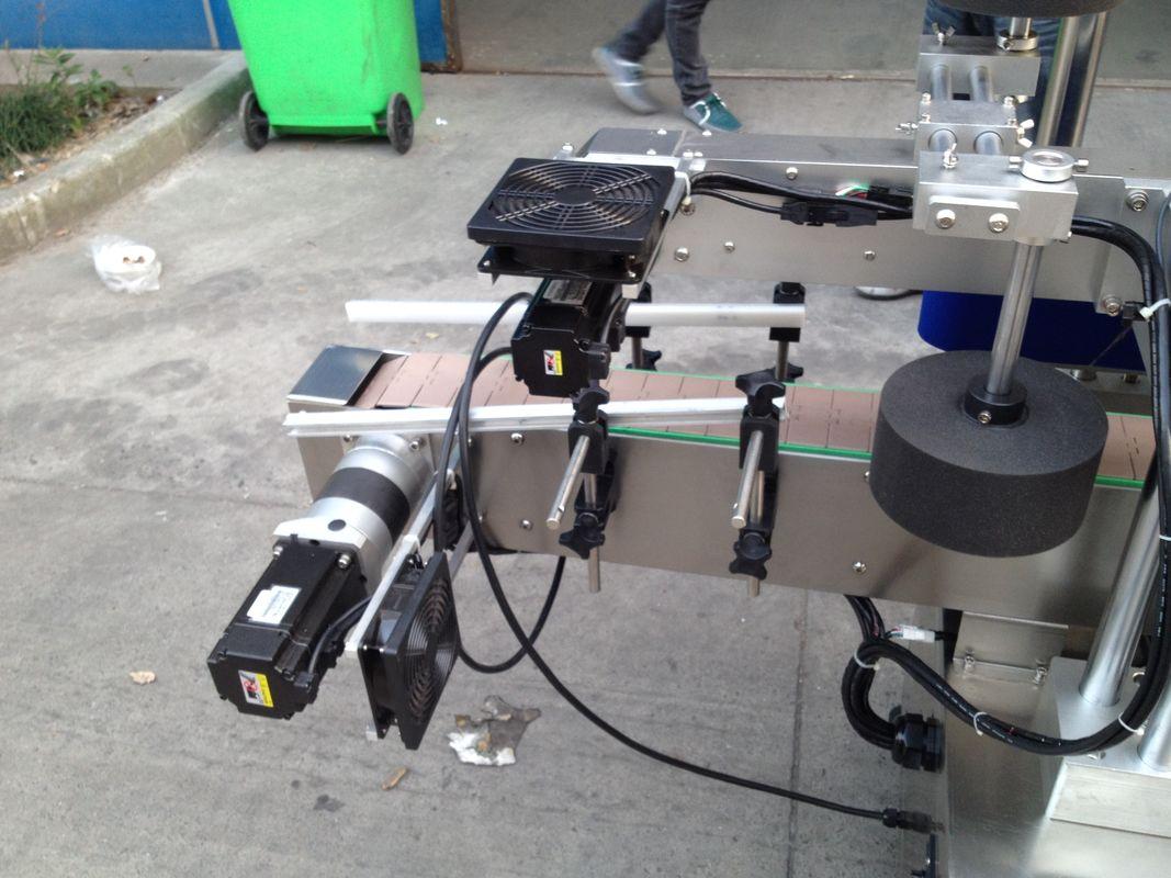 चिसो / गीला पग्लियो ग्लू लेबल एप्लिकेटर मेशीन गोल बोतलको लागि