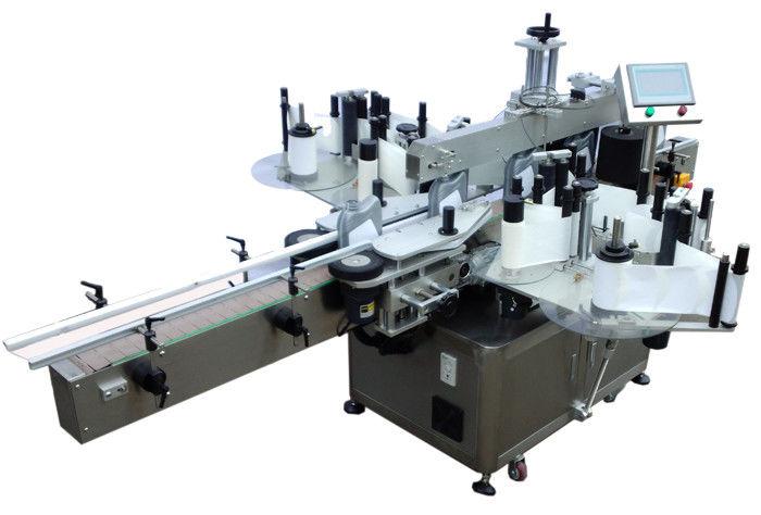 SUS304 स्टेनलेस स्टील अर्थव्यवस्था डबल साइड स्टिकर लेबलिंग मेशीन