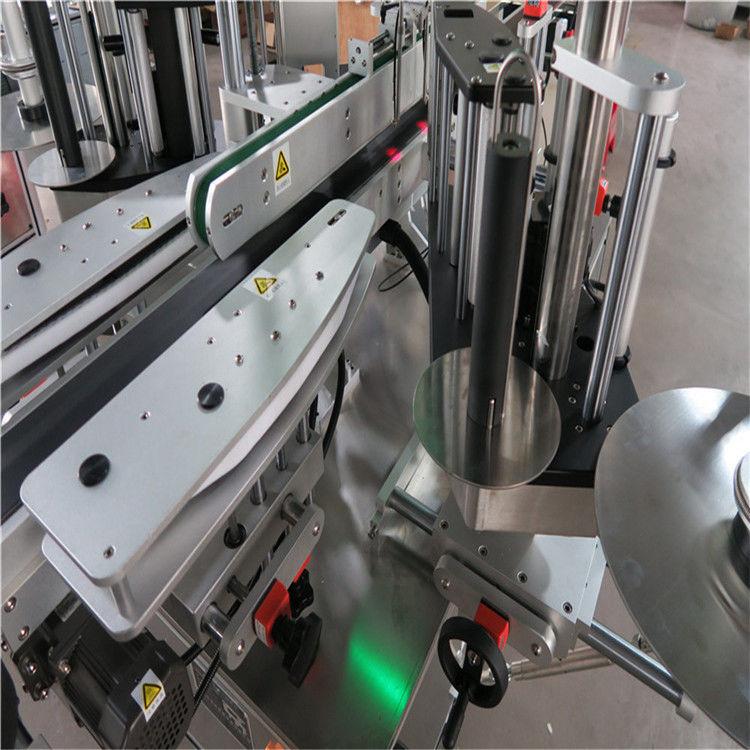 सीई स्वचालित स्टीकर लेबलिंग मेशिन, अगाडि र पछाडि बोतल लेबलर मेशीन