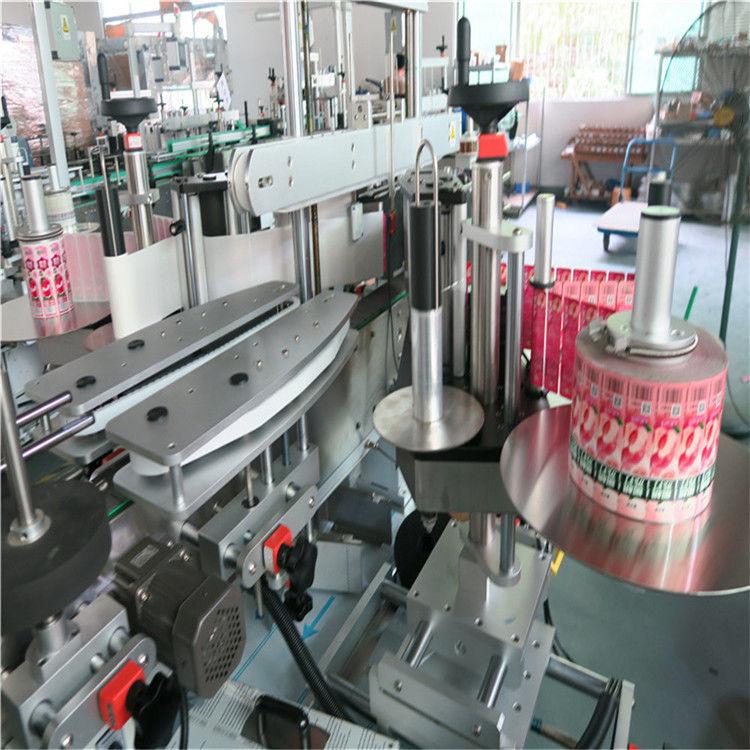 फ्रन्ट ब्याक स्वचालित स्टीकर लेबलिंग मेशिन सेल्फ चिपकने 330० मिमी अधिकतम बाह्य व्यास