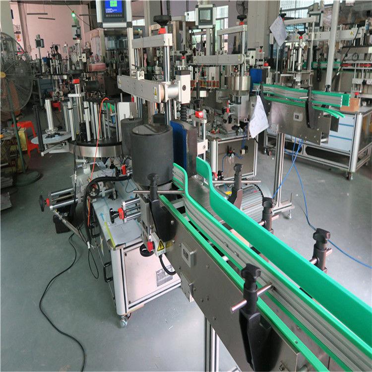 डबल साइड सेल्फ चिपकने वाला स्टीकर बोतल लेबलि Machine मेशीन १ 190 ० मीमी उचाई अधिकतम