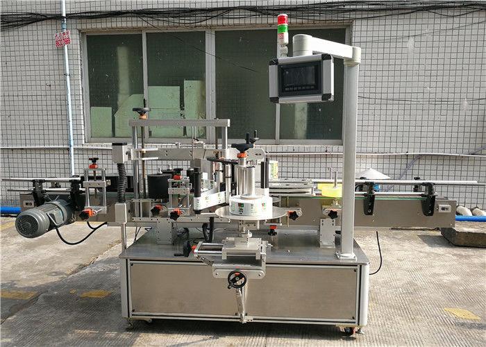 सीई स्वचालित स्टीकर लेबलिंग मशीन / दबाव सम्वेदनशील लेबलिंग मेशीन