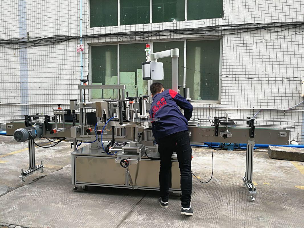 गिलास / पीईटी बोतलका लागि पूर्ण रूपमा स्वचालित पानी बोतल लेबलिंग मेशीन