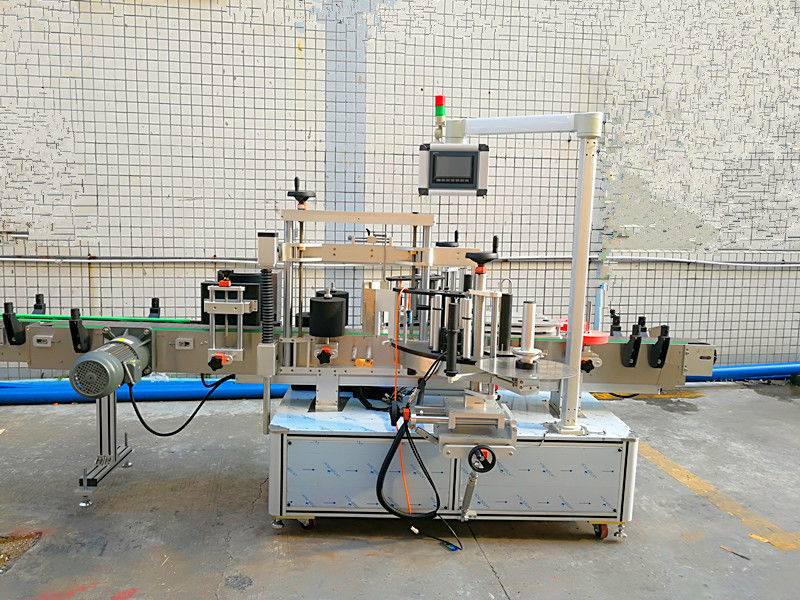 साधारण स्वचालित फ्रन्ट र पछाडि लेबलिंग मेशीन डबल साइडको साथ